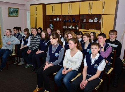 Встреча учащихся с лотошинскими поэтами